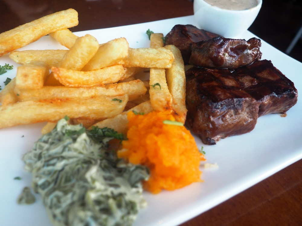 Mein erstes Springbock Steak @ The Butcher Camps Bay Capetown.
