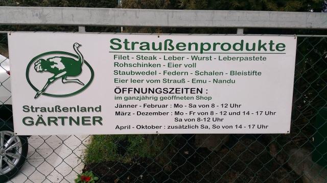 Straussenfleisch